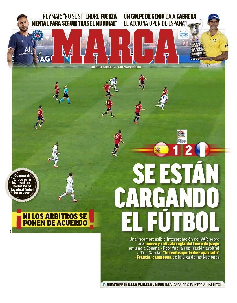 روزنامه مارکا  آنها فوتبال را تغییر دادهاند