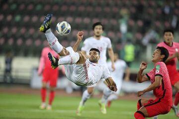 گزارش تصویری  اولین توقف تیم ملی با اسکوچیچ مقابل کرهجنوبی