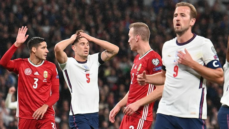 ویدیو| خلاصه بازی انگلیس ۱-۱ مجارستان