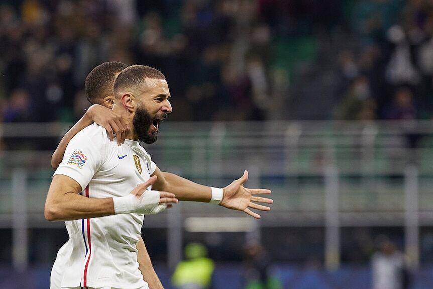 ویدیو  گل کریم بنزما به اسپانیا بهترین گل لیگ ملت های اروپا