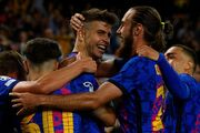 بارسلونا ۱ - دیناموکیف ۰/ سرانجام کاتالانها طعم پیروزی را چشیدند!