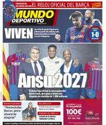 روزنامه موندو  آنسو ۲۰۲۷