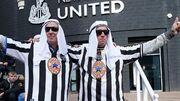 باشگاه نیوکاسل هواداران را سرزنش کرد/ لباس عربی نپوشید!