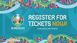 ۳۰ تا ۹۴۵ یورو، قیمت بلیتهای یورو 2020