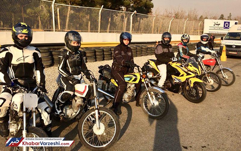 فعلاً موتورسواری زنان در خیابان ممنوع!