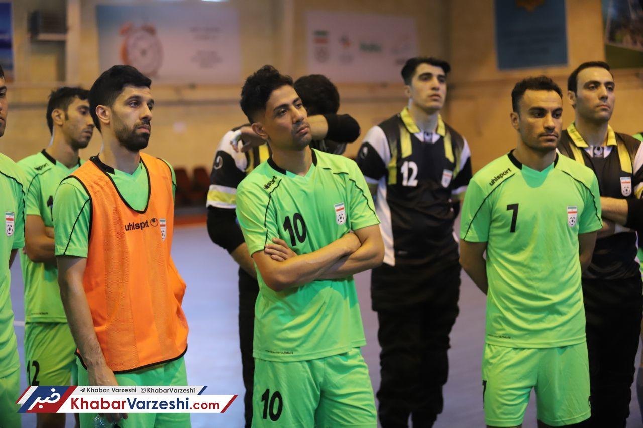 گزارش تصویری تمرین تیمملی فوتسال ایران