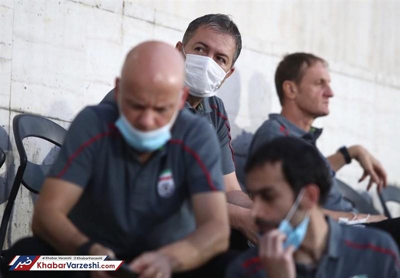 حضور اسکوچیچ و دستیارانش در ورزشگاه آزادی