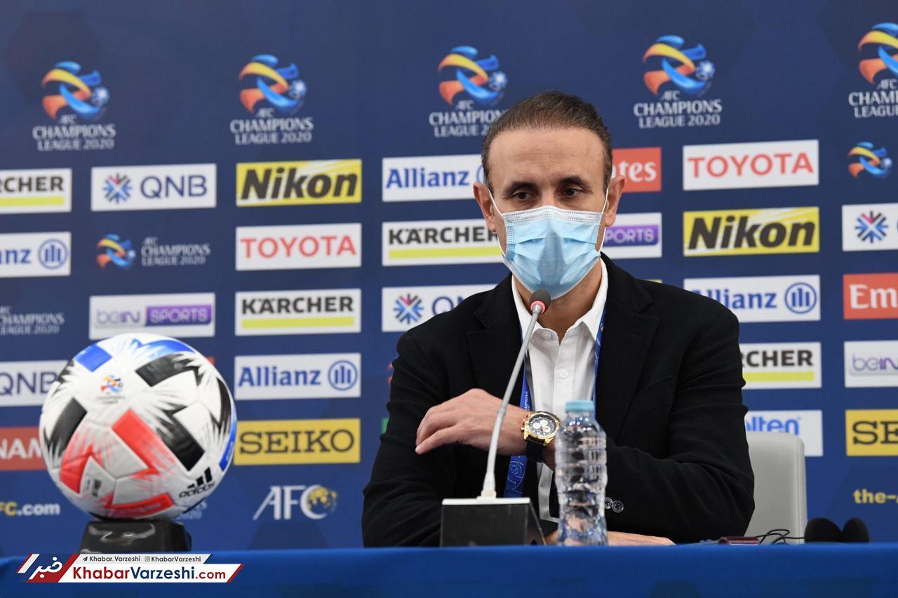 گلمحمدی: بازیکنانم با غیرت بازی کردند
