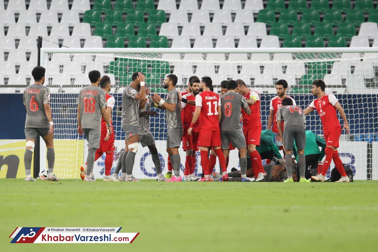 جزئیات درگیری شدید ۲ ستاره پرسپولیس بعد از بازی با الدحیل