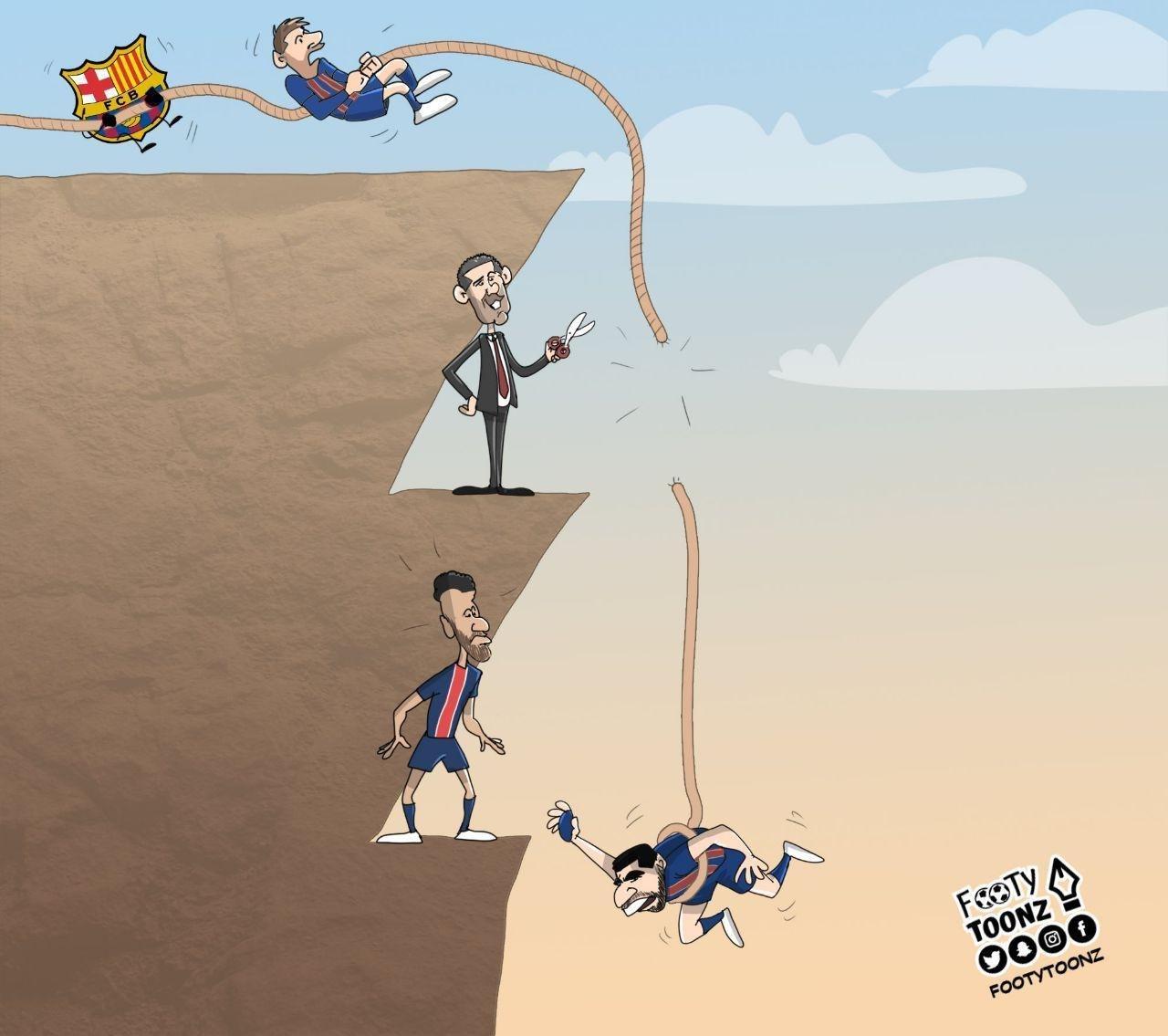 کارتون| داستان جدید مسی و بارتومئو