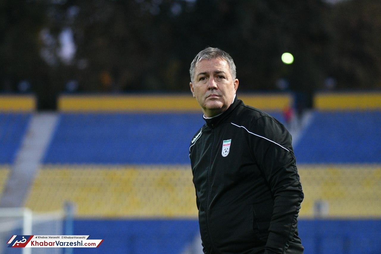 اسکوچیچ: یک جلسه تمرین تاکتیکی داشتیم و شرایط آسان نبود
