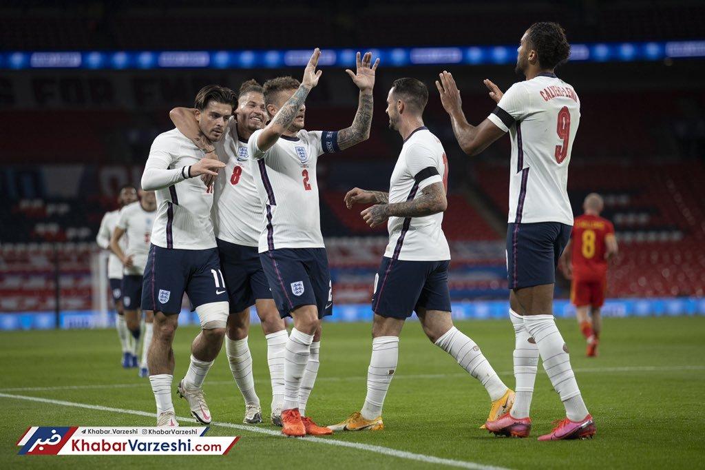 برتری قاطع انگلیس و توقف بلژیک
