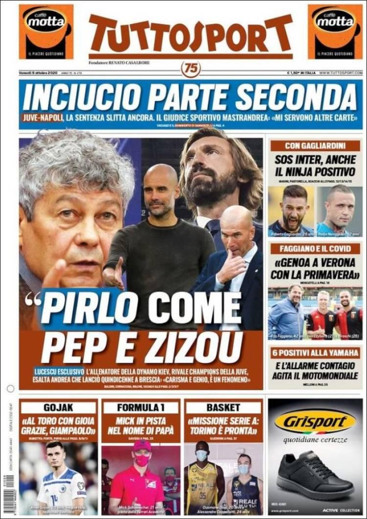 روزنامه توتو| پیرلو مثل پپ و زیزو