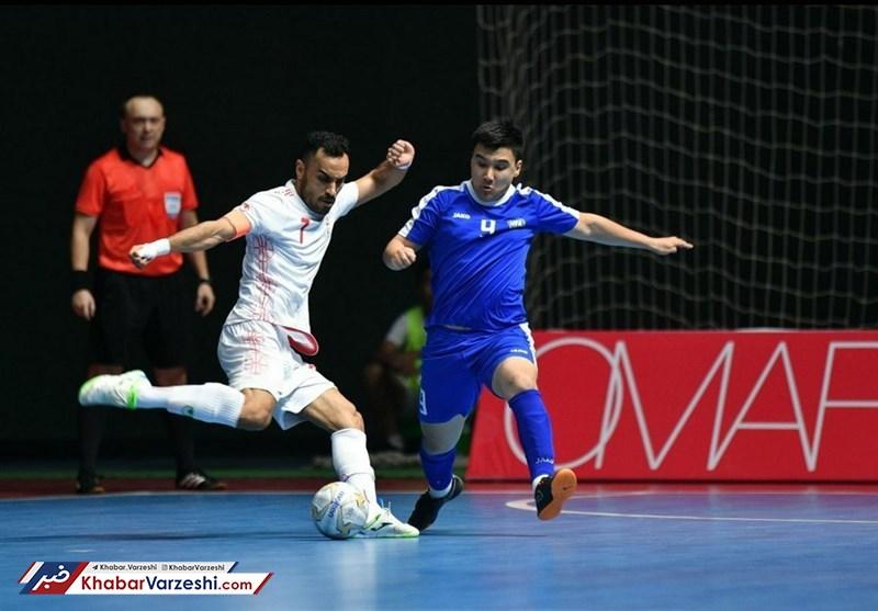 تیم ملی فوتسال ایران به برد رسید
