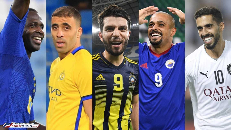 گل دیاباته، خلیل زاده و میرزایی نامزد بهترین گل لیگ قهرمانان آسیا