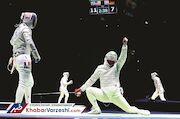 دوئل شمشیربازان ایرانی در رقابتهای جهانی چین