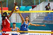 گزارش تصویری| دومین پیروزی والیبال ساحلی در بازهای آسیایی برابر مالدیو