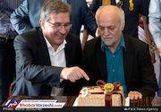 جشن تولد 70 سالگی رکوردار فوتبال ایران