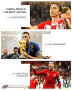مسی و رونالدو به چه کسانی رأی دادند؟