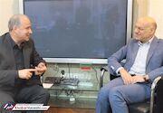 عکس| دیدار مدیران سرخابی با رئیس فدراسیون