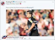 عکس| باشگاه انگلیسی تولد ملی پوش ایرانی را تبریک گفت