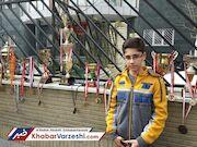نایبقهرمانی نوجوان ایرانی در شطرنج برقآسای سوئد