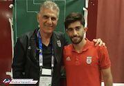 بازیکنی که اردوی تیم ملی را در امارات ترک کرد