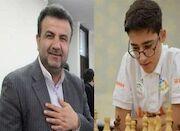 تقدیر استاندار از نوجوان شطرنجبازی که صدای ملت فلسطین شد