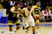 گزارش تصویری| پیروزی خانگی نیرو زمینی در لیگ برتر بسکتبال