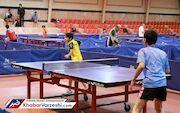 مسابقات دسته اول تنیس روی میز کشور در قم آغاز شد