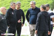پرسپولیسیها قبل از بازی با عمان مصاحبه نمیکنند!
