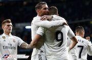 پیروزی پرگل خانگی رئال مادرید