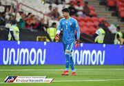 بیرانوند: بعد از گل اول تمرکزمان را از دست دادیم