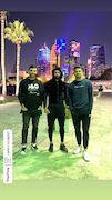 عکس  دورهمی ملی پوشان در قطر
