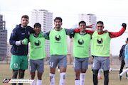 گزارش تصویری| تمرین تیم ملی فوتبال امید در زمین پژوهشگاه نفت