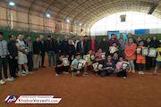 چهرههای برتر تنیس آذربایجانشرقی مشخص شدند