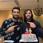عکس| هافبک پرسپولیس در جشن تولد طارق همام