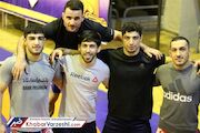 ترکیب ایران در جام جهانی کشتی آزاد روسیه