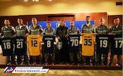 عکس| بازیکنان استقلال و پرسپولیس در ازبکستان همبازی شدند