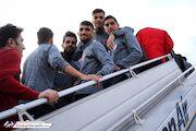 گزارش تصویری| سفر پرسپولیسی ها به اهواز
