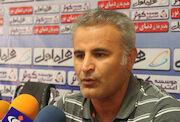برای موفقیت مقابل استقلال با منصوریان جلسه داشتیم