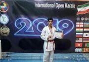 طلای مسابقات بینالمللی کاراته بر گردن کاراتهکای نهاوندی