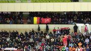 عکس| نمایش پرچم یک کشور جدید در فوتبال ایران!