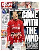 روزنامه میرر| بر باد رفته
