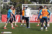 گزارش تصویری| اولین تمرین رئال مادرید با زیدان
