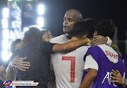 ساموراییها قهرمان فوتبال ساحلی آسیا شدند