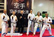گردهمایی دوستی و همدلی پنج نسل کاراته کشور