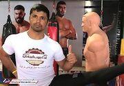 پیروزی کاپیتان سابق تیم ملی کاراته در مسابقات MMA