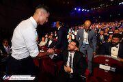 عکس| دیدار مسی و رونالدو در موناکو