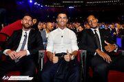 گزارش تصویری| مراسم قرعه کشی لیگ قهرمانان و معرفی مرد سال فوتبال اروپا